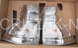 Фонари задние белые LC150 (комплект)