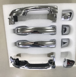 Дверные ручки в сборе хромированные LC200 15+ / LC150 17+