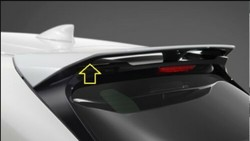 Спойлер задний верхний TRD для Lexus UX200 UX250h