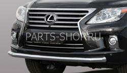 Защита переднего бампера короткая LX570 2012-