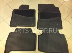 Коврики салона полиуретановые с текстильной вставкой LX570