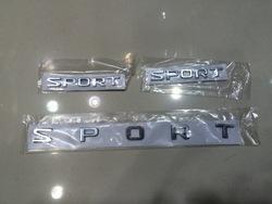 """Наклейки """"SPORT"""" на кузов и на молдинги"""
