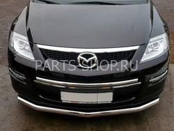 Защита переднего бампера нижняя на Mazda CX-9