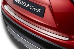 Накладка на задний бампер CX5