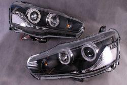 Фары линзовые Lancer в стиле EVO (комплект)