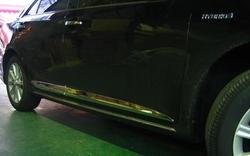 Хромированный молдинги по низу дверей Camry 2011-