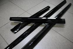 Молдинги дверей Prado 150 чёрные