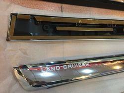 Молдинги на двери хром land cruiser 200 2015