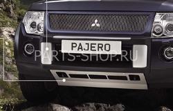 Защита картера алюминиевая для Pajero 2011-