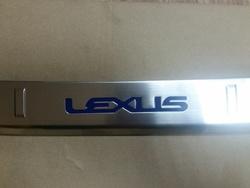 Накладка на бампер lexus nx