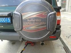 Колпак, футляр запасного колеса lc100/lc105