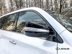 Корпуса зеркал стиль Superior, комплект (оригинал) бел., черн.
