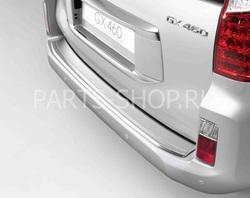 Накладка на задний бампер для Lexus GX460 из нерж.