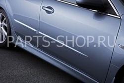 Молдинги боковых дверей на Mazda 6 2008-