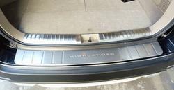 Накладки на бампер и на порог багажника Highlander 2010+