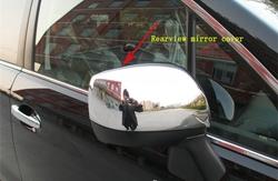 Накладки хром на зеркала forester, под повторитель и без