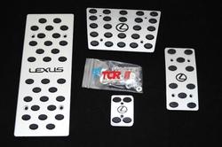 """Накладки на педали с логотипом """"Lexus"""""""