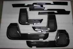 Накладки в салон prado 150 защитные темные либо светлые (12 частей)