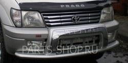 Тюнинг на Toyota Prado 90 накладка на передний бампер
