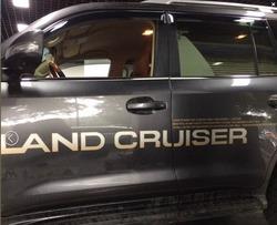 Наклейка на кузов Land Cruiser (комплект)