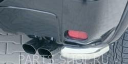 Защита заднего бампера 60 мм