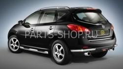 Хром окантовка двери багажника Nissan Murano 2008-