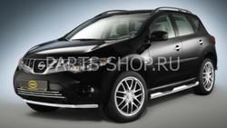 Защита переднего бампера для Nissan Murano 2008-