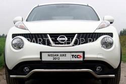 Защита передняя (кенгурин) Nissan Juke (полный привод)