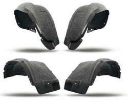 Подкрылки колесных арок gx460, дополнительные с шумкой