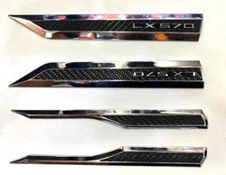Накладки на крылья и на крышку багажника LX570
