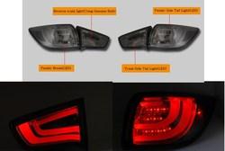 Фонари дымчатые стиль BMW (комплект)