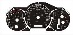 Переделка спидометра в километры RX330