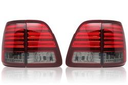 Оптика задняя светодиодная тонированная LC100 дизайн Lexus LX470