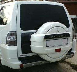 Колпак запасного колеса pajero 4