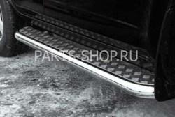 Пороги из нержавеющей стали для RAV4 (60мм)