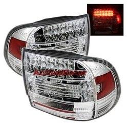 Светодиодные фонари хромированные Porsche Cayenne