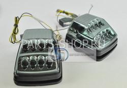 Повторители поворотов диодные W463 дымчатые