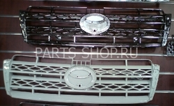 Решетка радиатора на LC150 PRADO (хром, белая, сер., черн.)