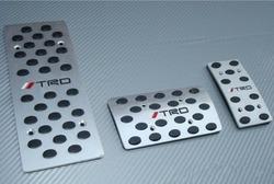 Накладки на педали с логотипом TRD
