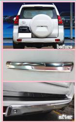 Защитная накладка заднего бампера LC150 2018 (без отверстия под сонары)