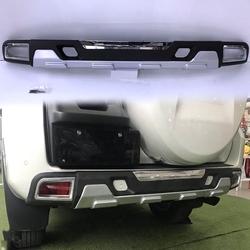 Накладка заднего бампер prado 150