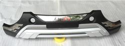 Накладка переднего бампера пластиковая с хромом, с надписью iX35 13-16