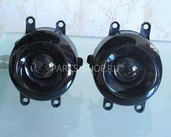 Противотуманные фары линзовые LC150/V40 (черные)
