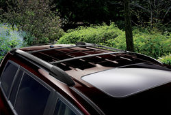 Поперечины на рейлинги для Toyota Highlander 08-13