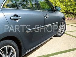 Молдинги на двери Camry V50 (поставляются в цвет авто)