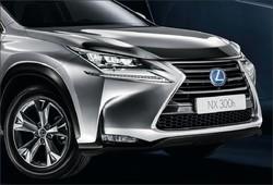 Дефлектор капота Lexus NX 14-