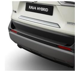 Накладка хром на крышку багажника rav4 2020