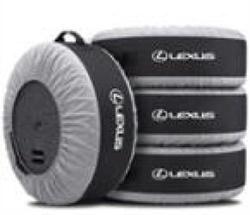 Чехлы для покрышек lexus (комплект 4 шт.)