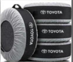 Чехлы для шин, дисков toyota (комплект 4 шт.)