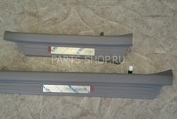 Внутрисалонные накладки на пороги со светодиодной подсветкой LC100